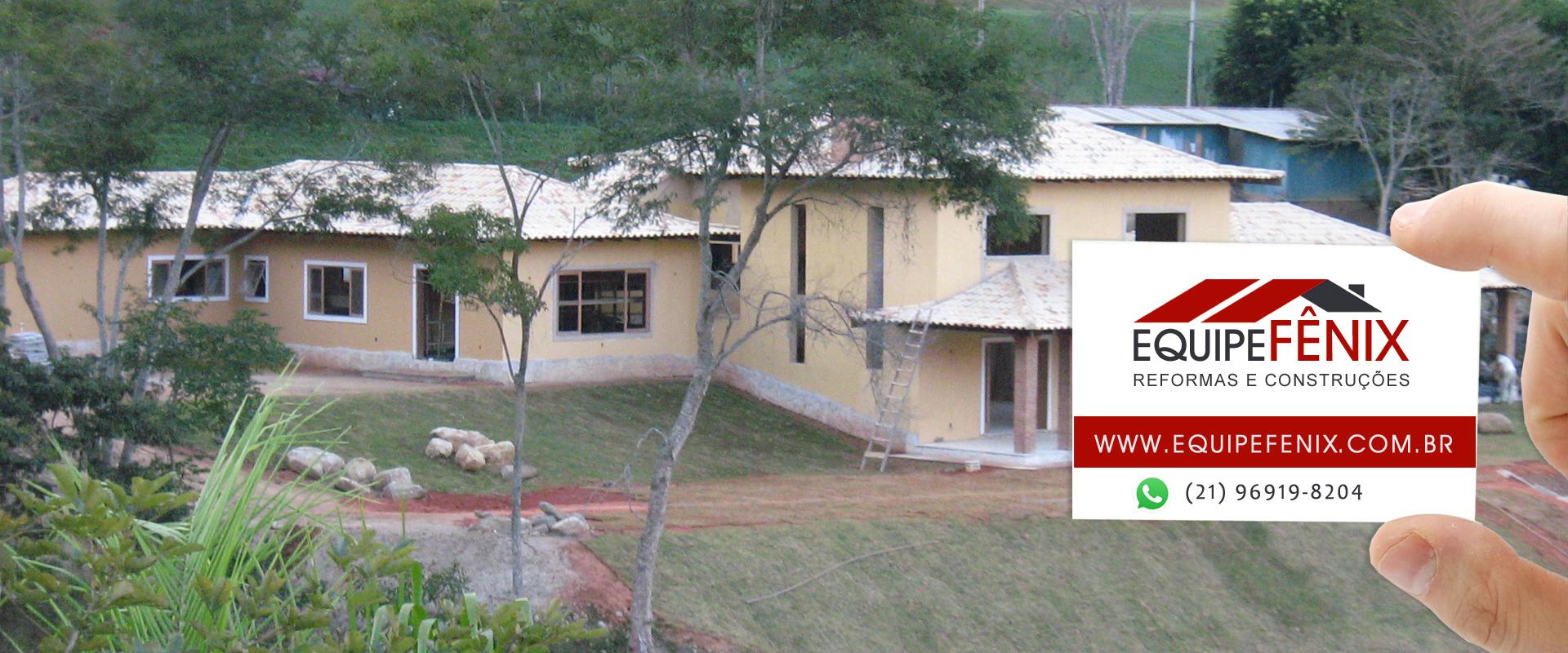 reformas residenciais rj